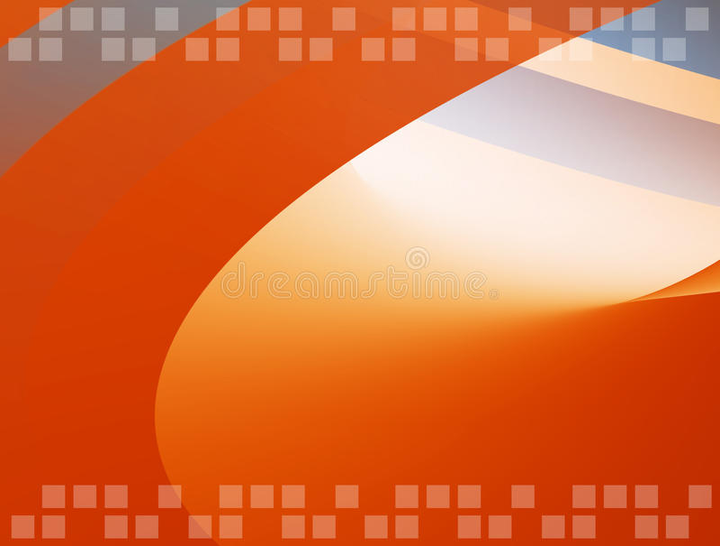 πορτοκάλι ανασκόπησης διανυσματική απεικόνιση