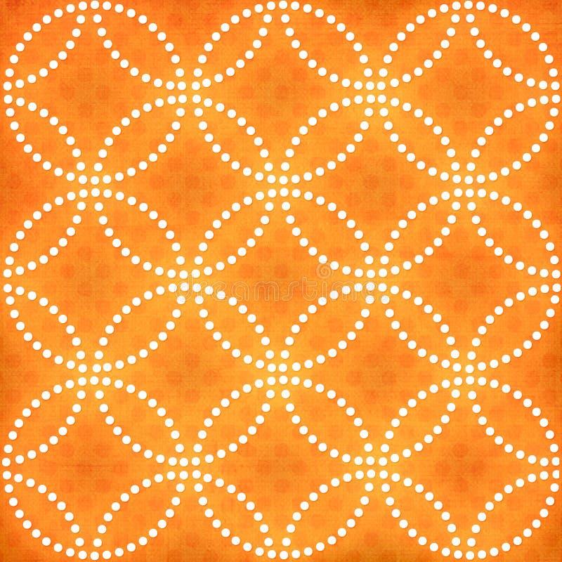 πορτοκάλι ανασκόπησης grunge ελεύθερη απεικόνιση δικαιώματος