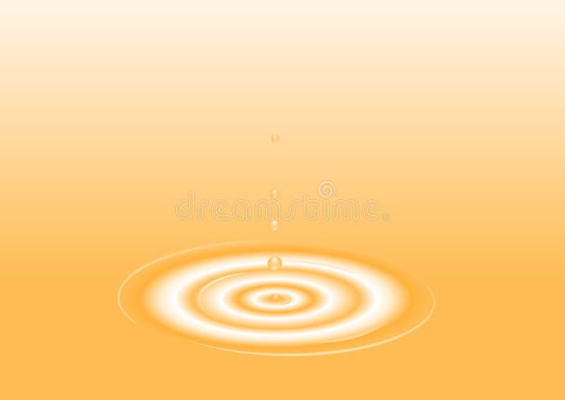πορτοκάλι απεικόνισης απελευθέρωσης απεικόνιση αποθεμάτων