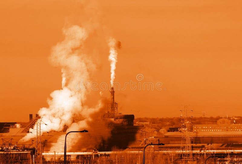 πορτοκάλι εκπομπών στοκ εικόνες