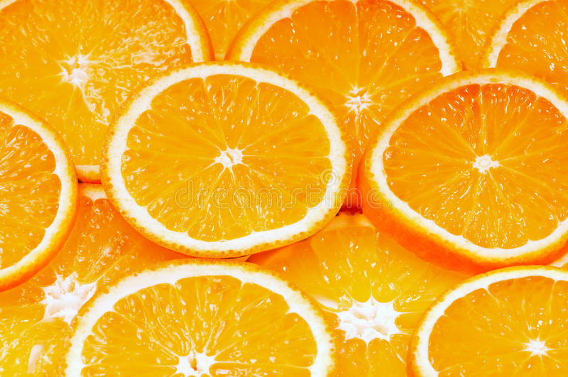 πορτοκάλι καρπού ανασκόπ&eta στοκ φωτογραφίες