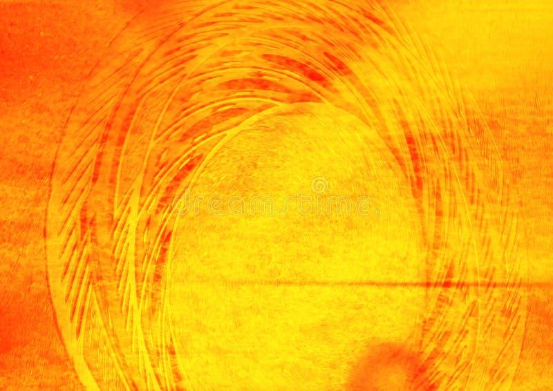 πορτοκάλι κολάζ Στοκ εικόνες με δικαίωμα ελεύθερης χρήσης