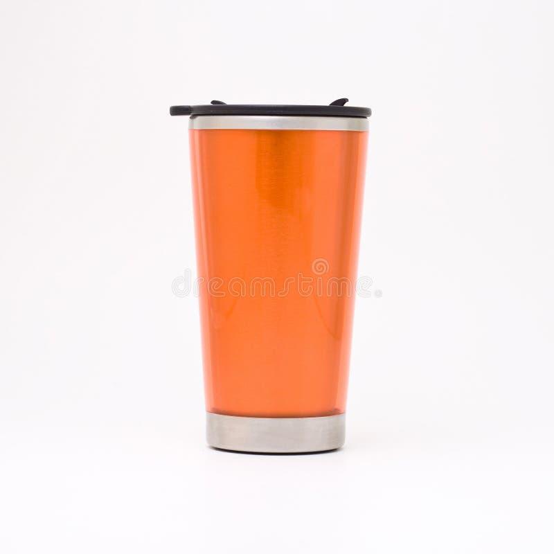 πορτοκάλι κουπών θερμικό στοκ εικόνες με δικαίωμα ελεύθερης χρήσης