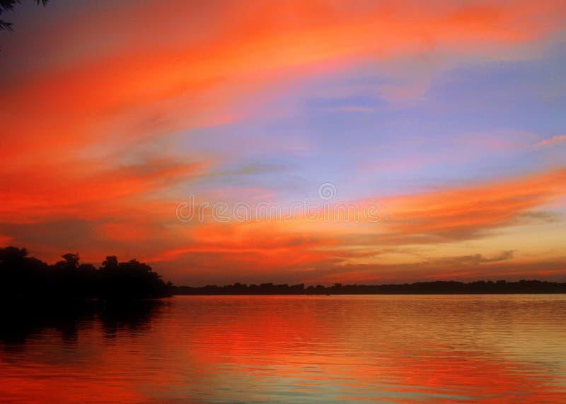 πορτοκάλι λιμνών στοκ φωτογραφία με δικαίωμα ελεύθερης χρήσης