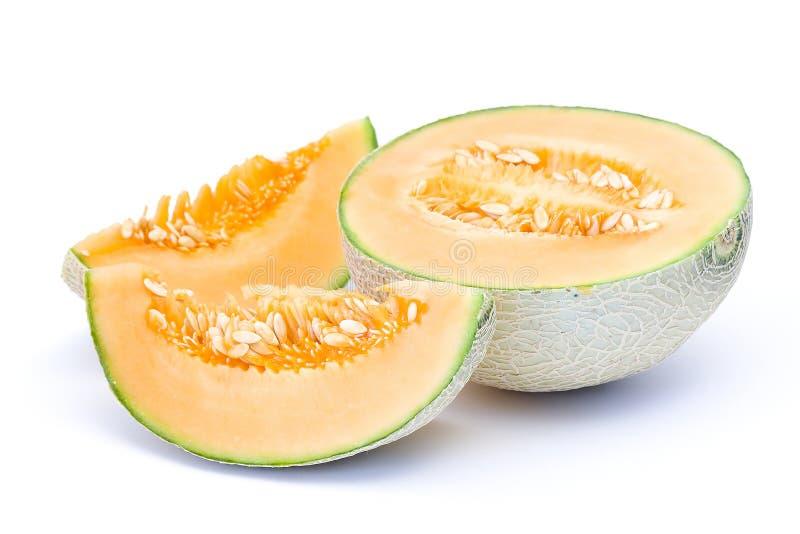 πορτοκάλι πεπονιών πεπον&io στοκ φωτογραφία με δικαίωμα ελεύθερης χρήσης