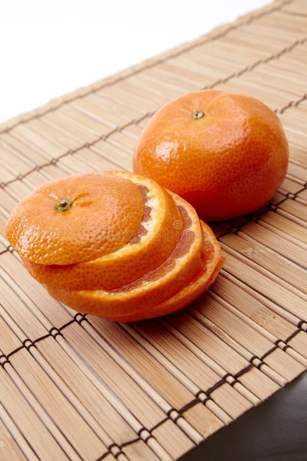 πορτοκάλι πετσετών στοκ φωτογραφία με δικαίωμα ελεύθερης χρήσης