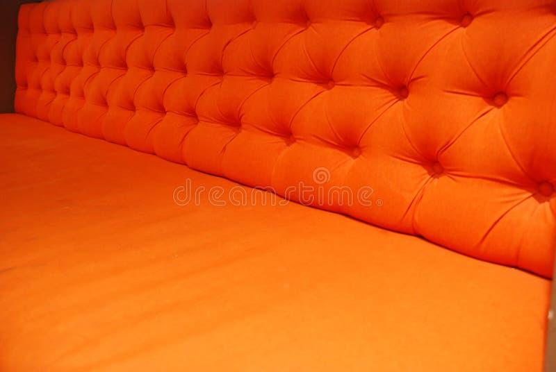 πορτοκάλι πολυθρόνων στοκ εικόνες