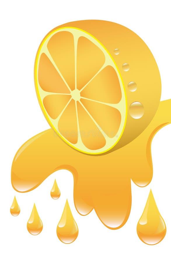 πορτοκάλι χυμού απεικόνιση αποθεμάτων