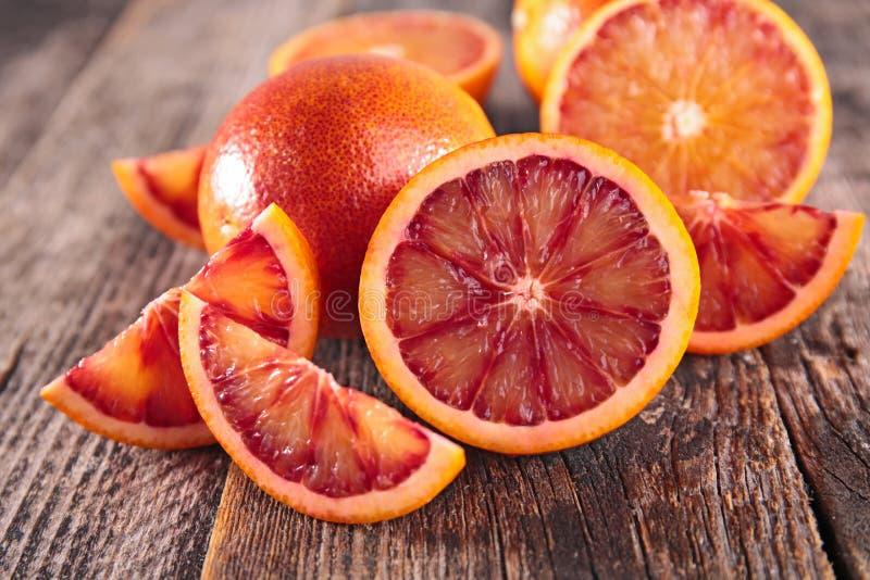 Πορτοκάλι αίματος στοκ εικόνες με δικαίωμα ελεύθερης χρήσης