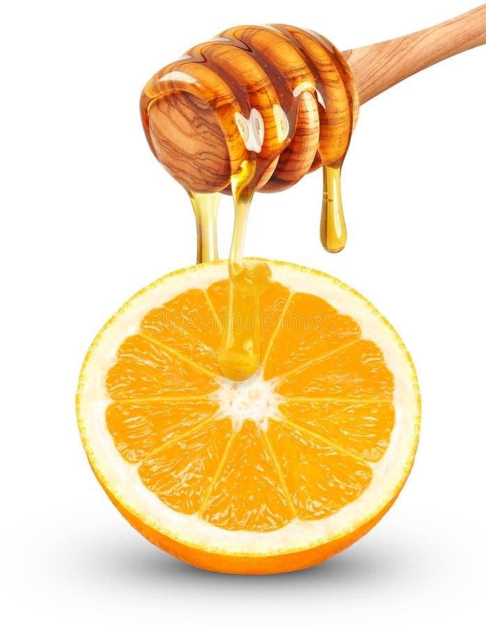 Πορτοκάλι με το μέλι στοκ φωτογραφία με δικαίωμα ελεύθερης χρήσης