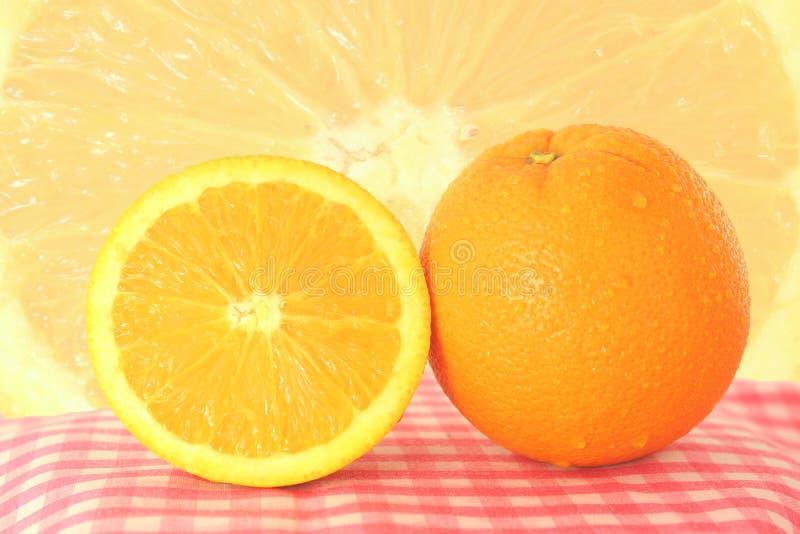 Πορτοκάλι φρούτων στοκ εικόνες