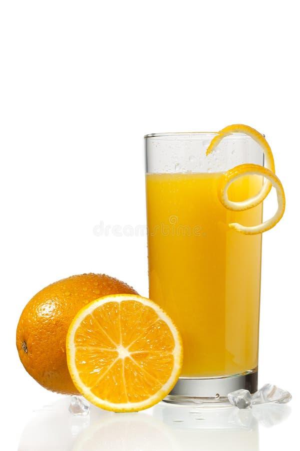 πορτοκάλι χυμού γυαλιο στοκ φωτογραφίες με δικαίωμα ελεύθερης χρήσης