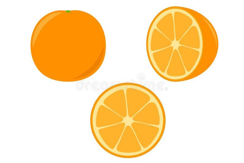 Πορτοκάλι ελεύθερη απεικόνιση δικαιώματος
