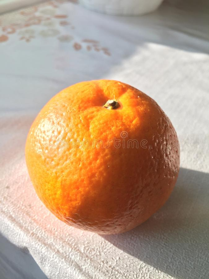 Πορτοκάλι στοκ φωτογραφία με δικαίωμα ελεύθερης χρήσης