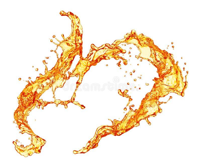 πορτοκαλής παφλασμός στοκ φωτογραφία με δικαίωμα ελεύθερης χρήσης