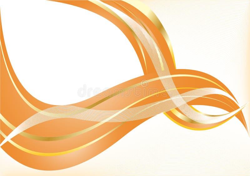 πορτοκαλί διάνυσμα ανασ&ka διανυσματική απεικόνιση