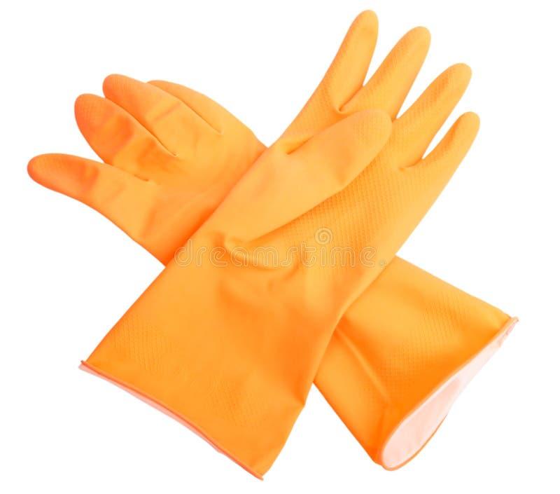 πορτοκαλί λάστιχο δύο γα στοκ φωτογραφία