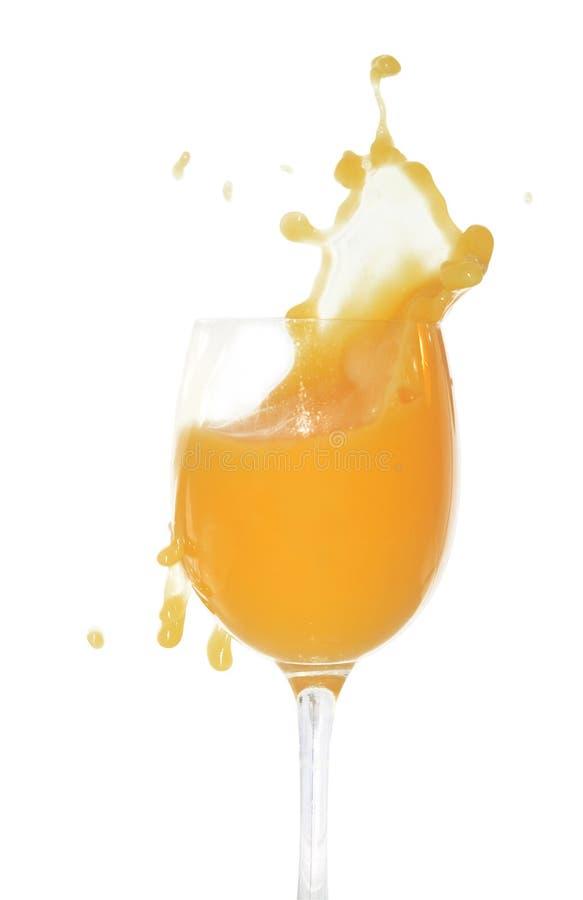 πορτοκαλί ράντισμα χυμού στοκ φωτογραφία με δικαίωμα ελεύθερης χρήσης