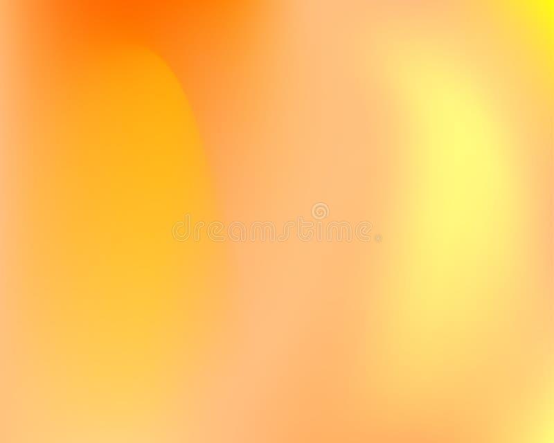 Πορτοκαλί υγρό κυματιστό διανυσματικό υπόβαθρο κλίσης ελεύθερη απεικόνιση δικαιώματος