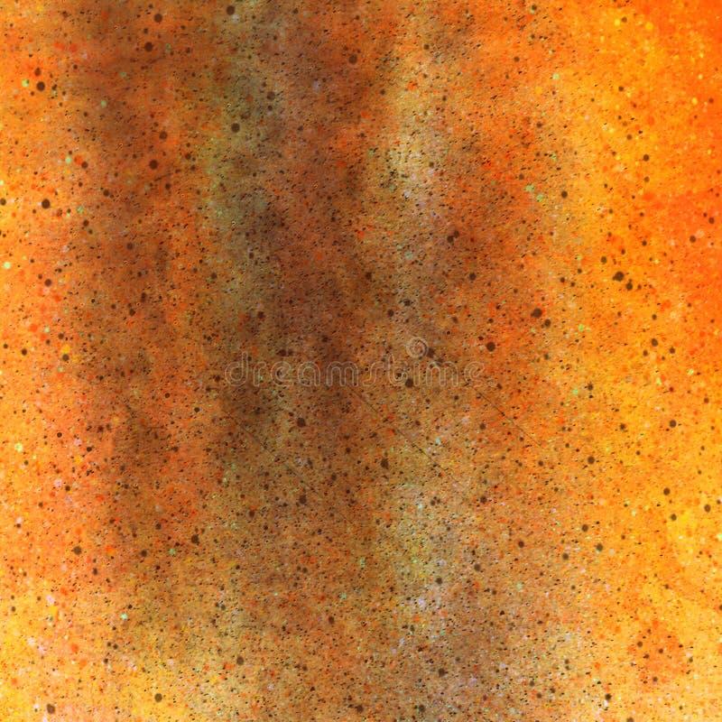 Πορτοκαλί ψαμμίτη grunge φορεμένο υπόβαθρο εγγράφου σύστασης παλαιό στοκ φωτογραφία