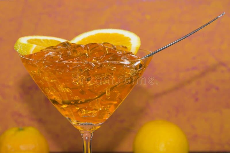 Πορτοκαλιά ζελατίνα στοκ φωτογραφία με δικαίωμα ελεύθερης χρήσης