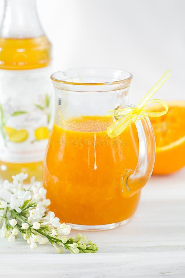 πορτοκαλιά σάλτσα στοκ φωτογραφίες