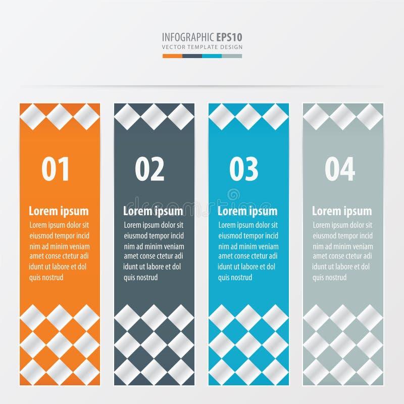 Πορτοκαλί, μπλε, γκρίζο χρώμα ύφους ελεγκτών εμβλημάτων διανυσματική απεικόνιση