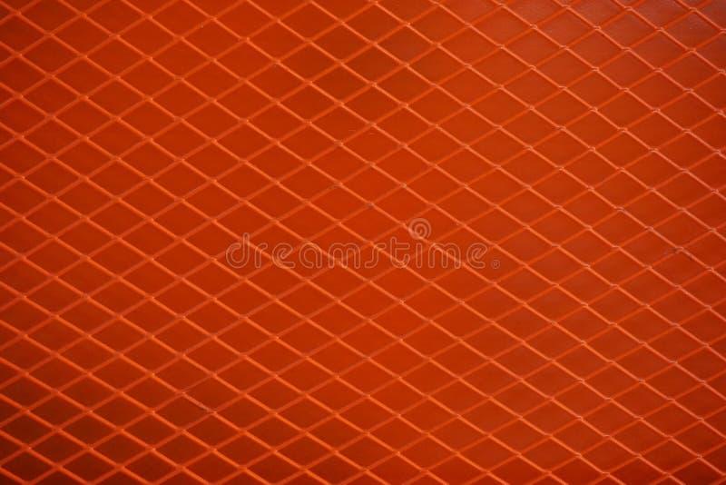 Πορτοκαλί πλέγμα μετάλλων στοκ φωτογραφία