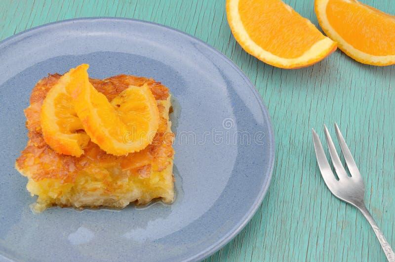 πορτοκαλιά πίτα στοκ φωτογραφία με δικαίωμα ελεύθερης χρήσης