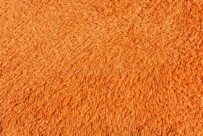 πορτοκαλιά πετσέτα στοκ φωτογραφίες
