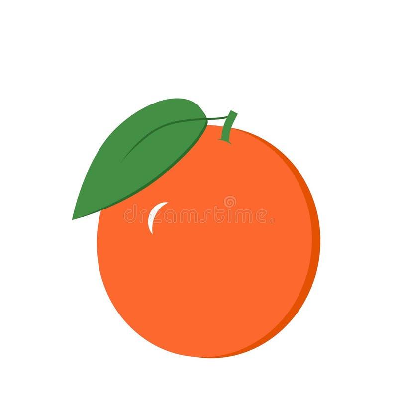 Πορτοκαλιά τέχνη συνδετήρων στοκ εικόνα