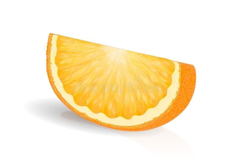 Download Πορτοκαλιά φέτα διανυσματική απεικόνιση. εικονογραφία από ανανέωση - 62710952