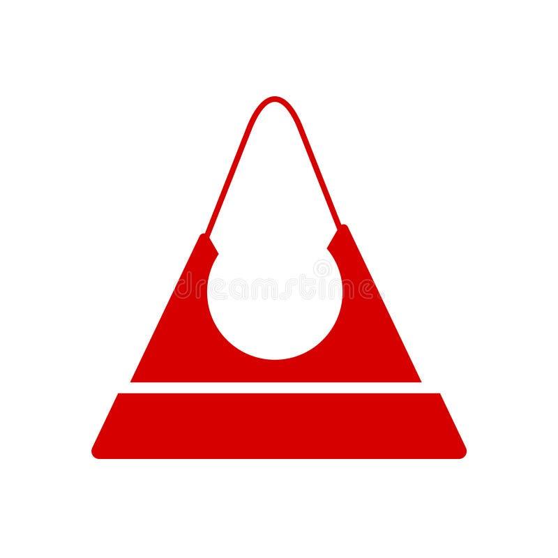 Πορτοφολιών σημάδι και σύμβολο εικονιδίων διανυσματικό που απομονώνονται στο άσπρο υπόβαθρο, έννοια λογότυπων πορτοφολιών απεικόνιση αποθεμάτων