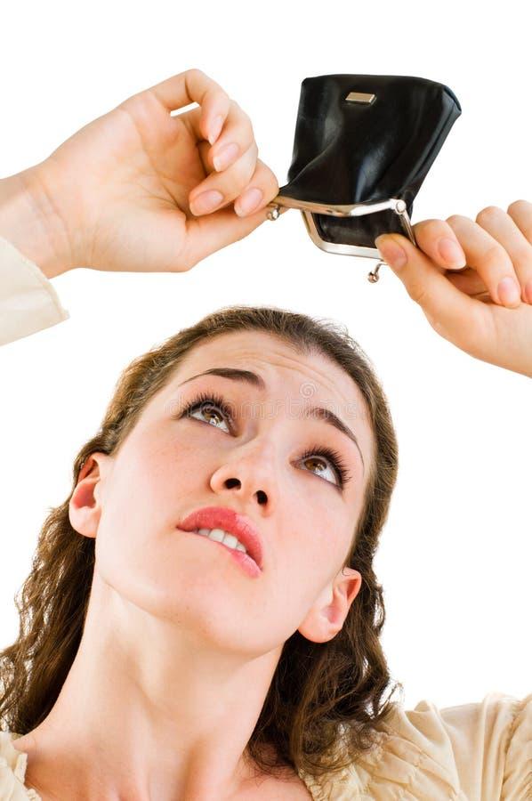 πορτοφόλι κοριτσιών στοκ φωτογραφία με δικαίωμα ελεύθερης χρήσης
