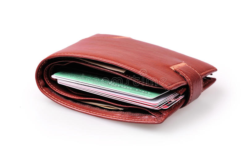Πορτοφόλι στοκ φωτογραφία με δικαίωμα ελεύθερης χρήσης