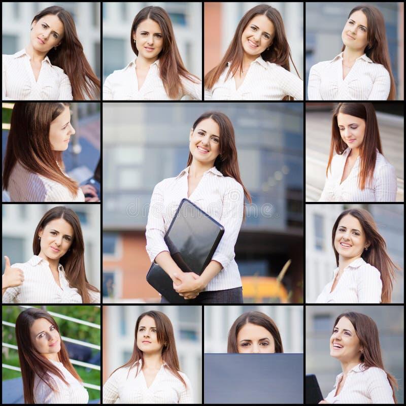 Πορτρέτα συλλογής στοκ εικόνα