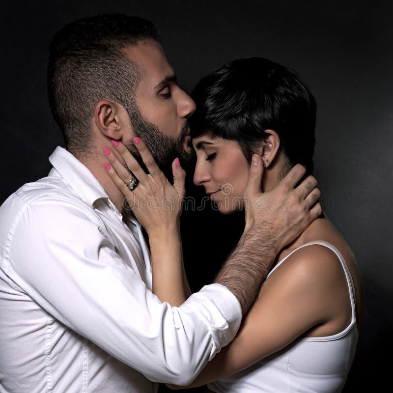 πορτρέτο αγάπης ζευγών στοκ εικόνες