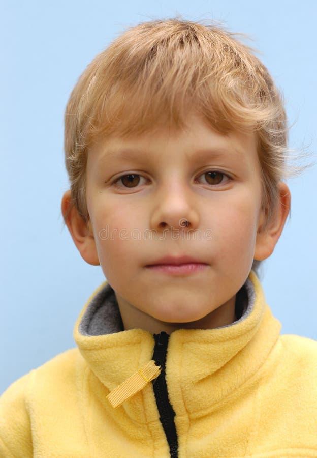 πορτρέτο αγοριών Στοκ Εικόνες