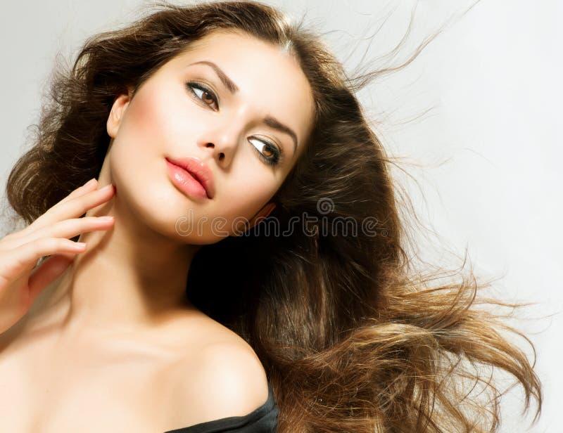 Πορτρέτο γυναικών ομορφιάς στοκ φωτογραφίες