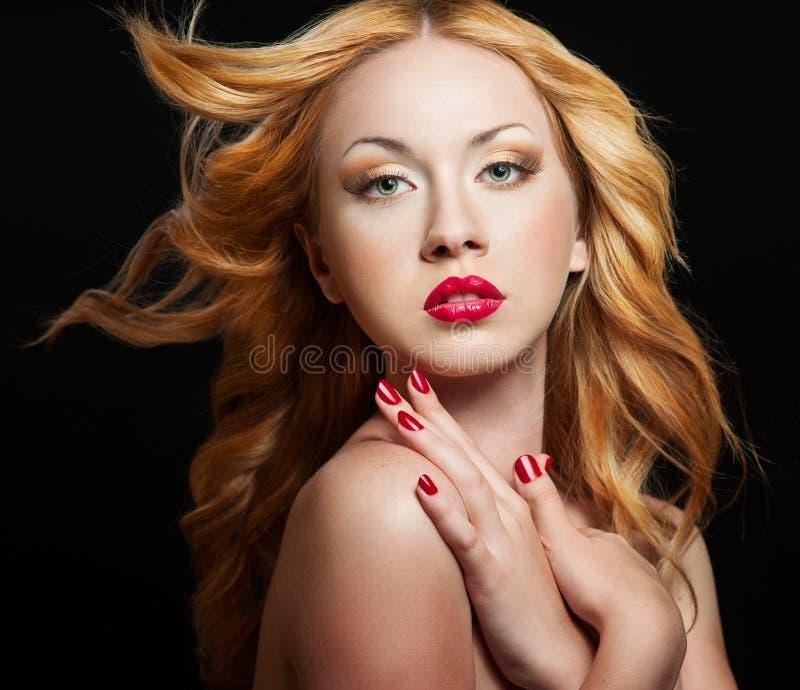 Πορτρέτο γυναικών στοκ εικόνα με δικαίωμα ελεύθερης χρήσης