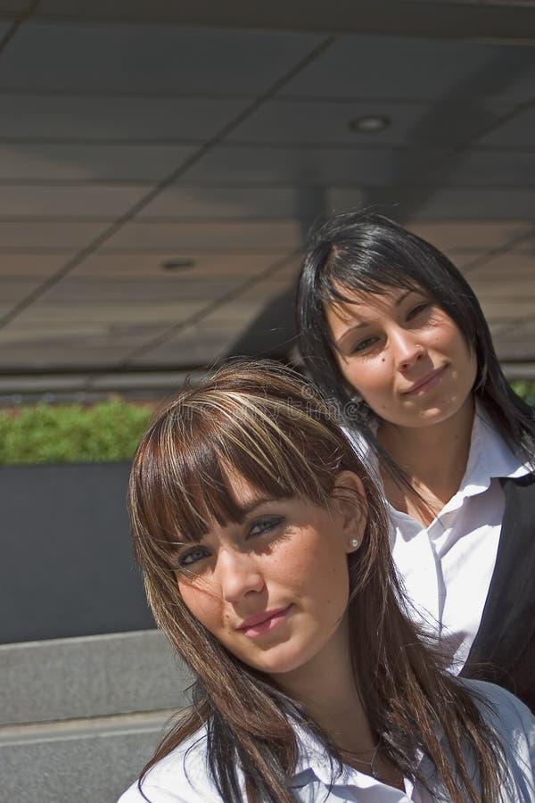πορτρέτο δύο γυναίκες στοκ φωτογραφίες