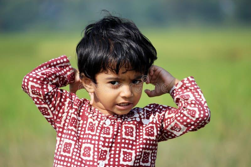 Πορτρέτο ενός άτακτου παιδιού στοκ φωτογραφίες με δικαίωμα ελεύθερης χρήσης