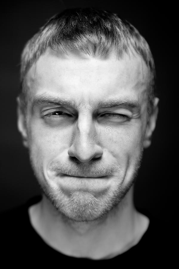 Download Πορτρέτο ενός ατόμου. στοκ εικόνες. εικόνα από περιοδικό - 22781696