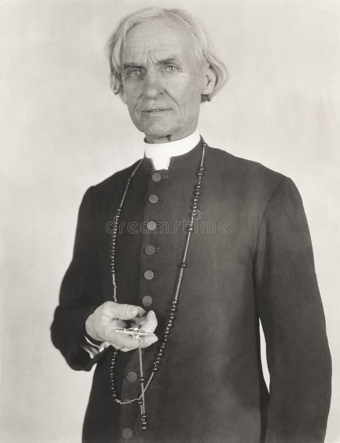 Πορτρέτο ενός ιερέα στοκ φωτογραφία με δικαίωμα ελεύθερης χρήσης