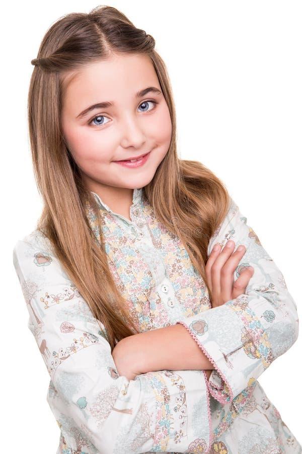 Πορτρέτο ενός μικρού κοριτσιού στοκ φωτογραφία με δικαίωμα ελεύθερης χρήσης