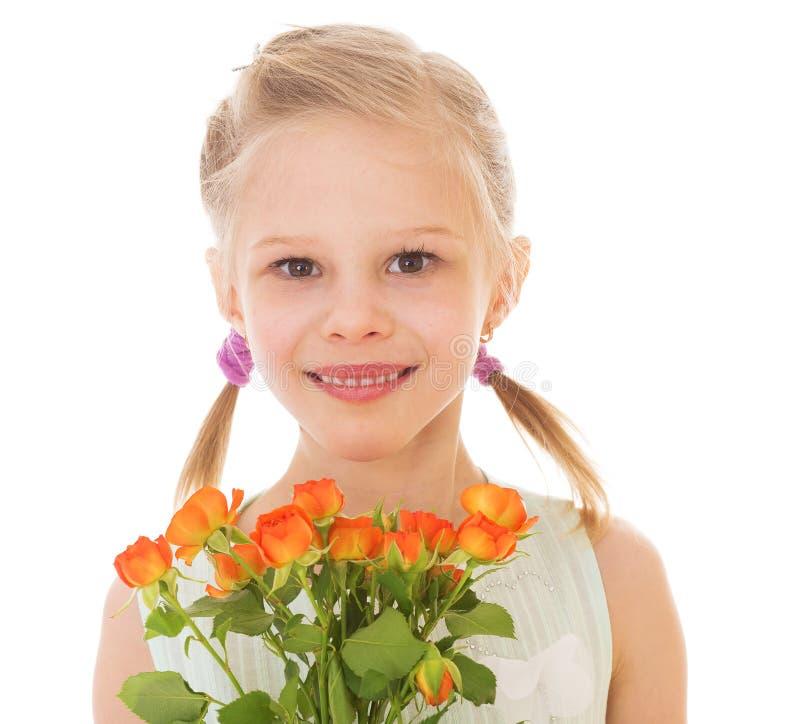 Πορτρέτο ενός μικρού κοριτσιού στοκ εικόνα με δικαίωμα ελεύθερης χρήσης