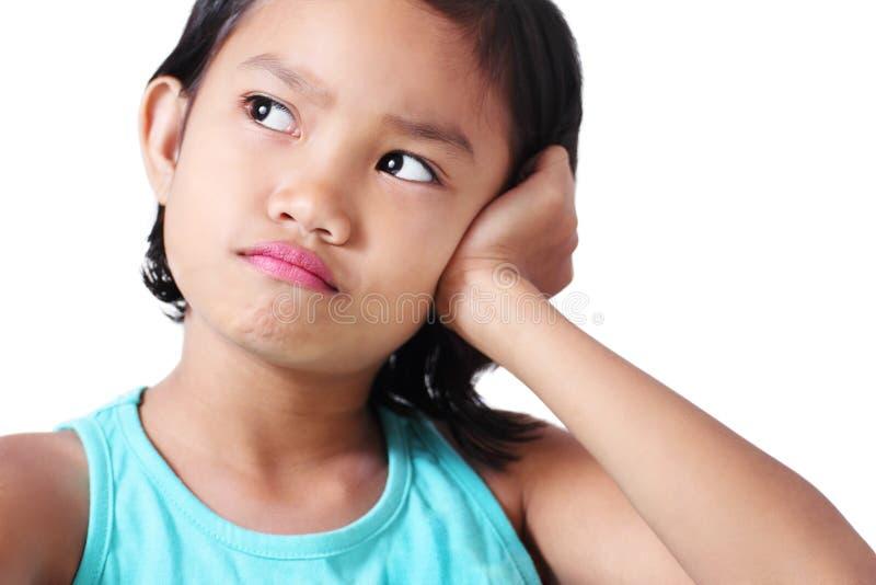 Λυπημένο κορίτσι στοκ εικόνες με δικαίωμα ελεύθερης χρήσης