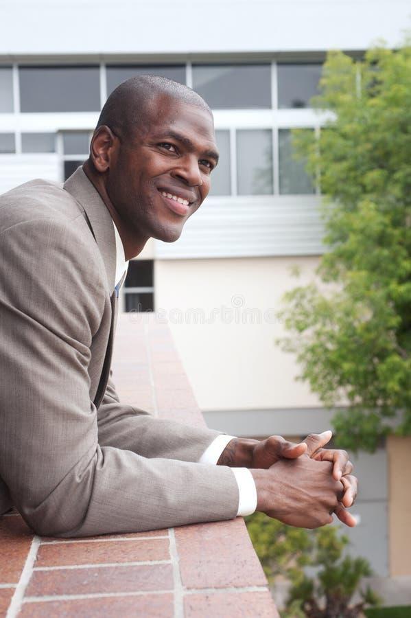 πορτρέτο επιχειρηματιών αφροαμερικάνων στοκ εικόνα με δικαίωμα ελεύθερης χρήσης
