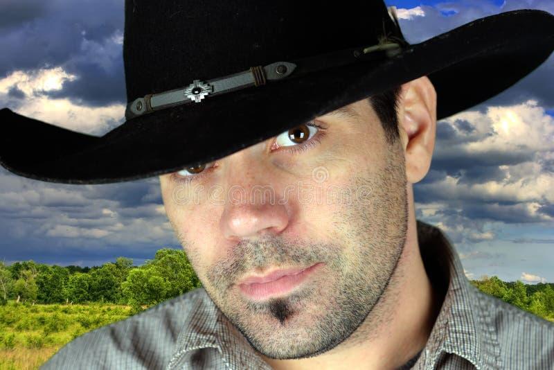πορτρέτο κάουμποϋ στοκ εικόνα με δικαίωμα ελεύθερης χρήσης