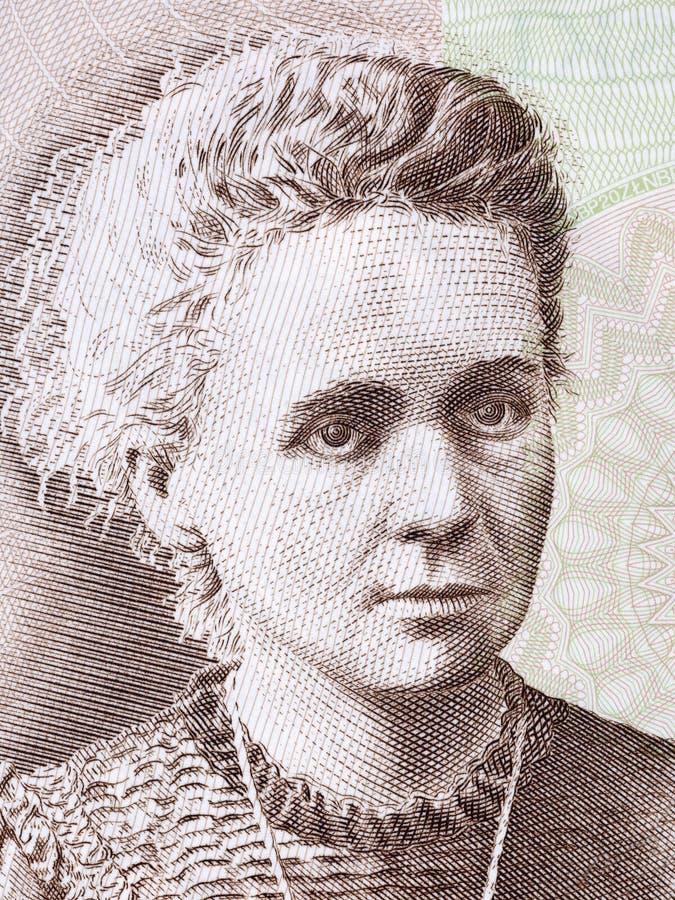Πορτρέτο κιουριού της Marie Sklodowska στοκ φωτογραφία